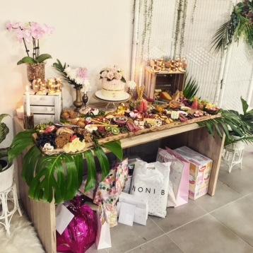 brisbane grazing and dessert table